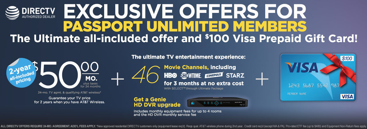 Passport Unlimited Directv Connect Your Home