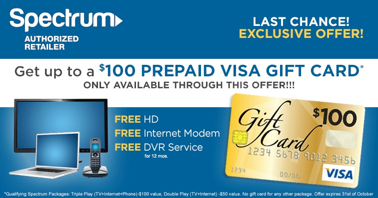 Charter Spectrum TV Packages | Connect Your Home